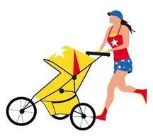 Jogging mom